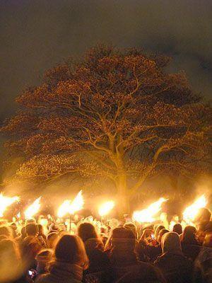 magia celta wicca. WIccanos en la danza de Beltane