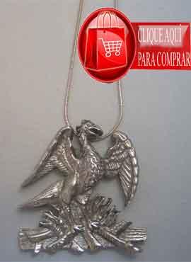 colgane phoenix de plata