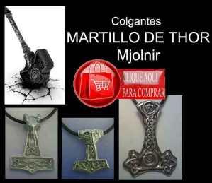 martillos de Thor mjolnir