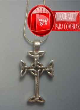 cruz celta Lendalfoot de plata