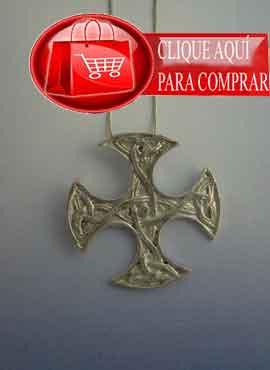 cruz celta escocesa de Clackham