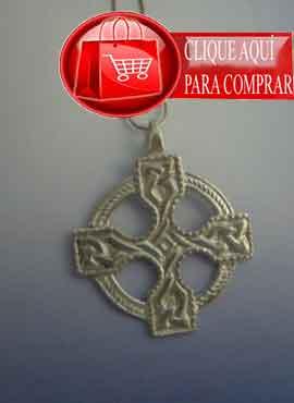 cruz celta de plata de Saint Ninian