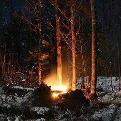 magia celta wicca, fuegos de Yule