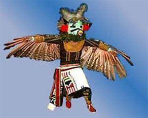 katchina vista por los indios hopi