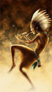 kokopelli indio y su flauta mágica
