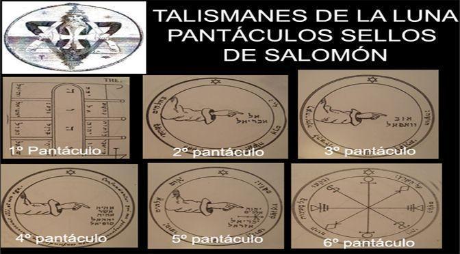 talismanes de la luna
