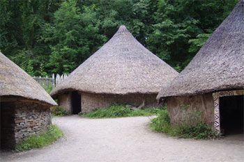 poblado celta típico
