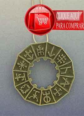 rueda de runas mágicas