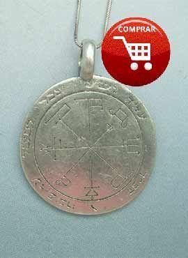 talismán de Saturno 6º de las claves de Salomón