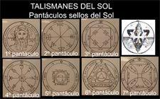 talismanes del Sol, sellos de Salomón