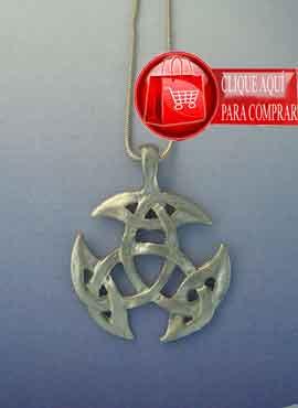 triqueta celta plata