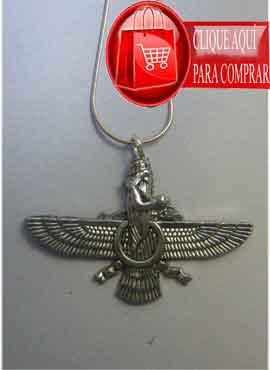 faravaharfaravahar zoroastro phalavi amuleto persa phalavi zoroastro de plata