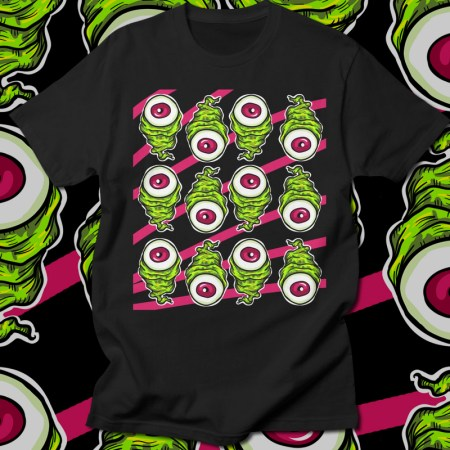 Eyeballz T-Shirt Design