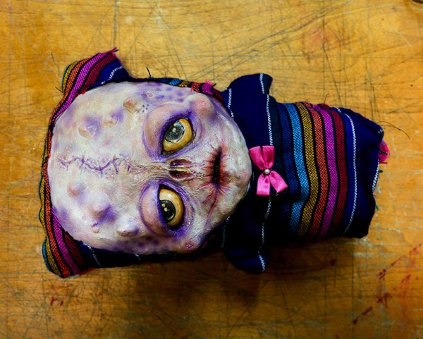 Ray Sophisticato Creepy Cute Doll by multimedia dark artist Talissa Mehringer