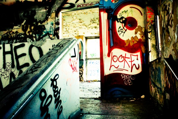 Fuck You Media Spree - Abandoned Berlin - Urbex Photography