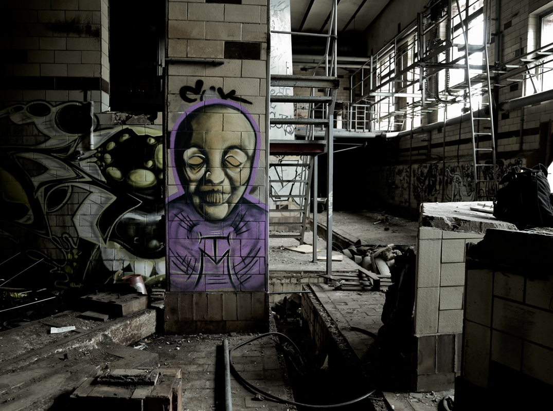 Hidden Soul - Dark Art Graffiti Character