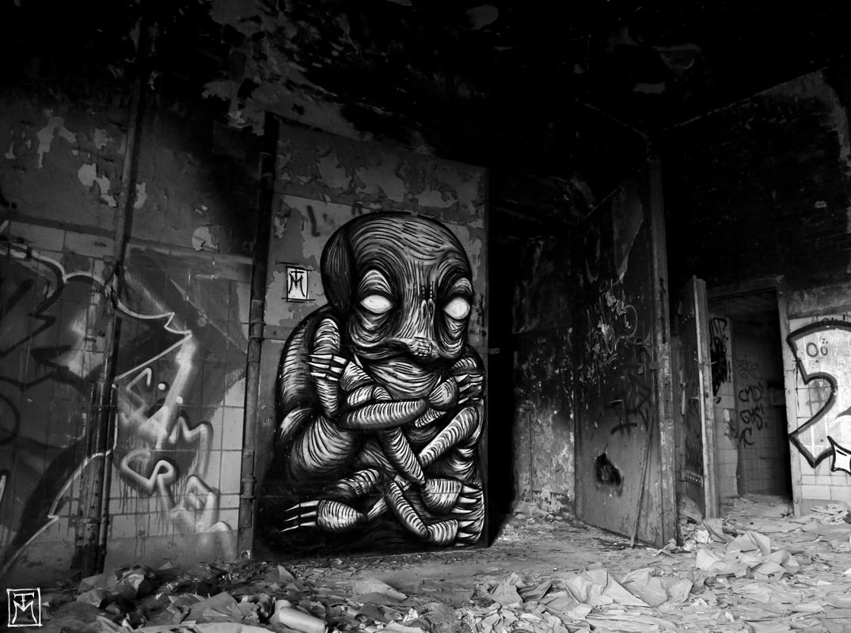 Urban Vermin - Urbex Graffiti Character