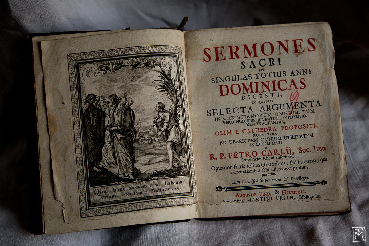 Sermones Sacri - Rare Antique Book Find