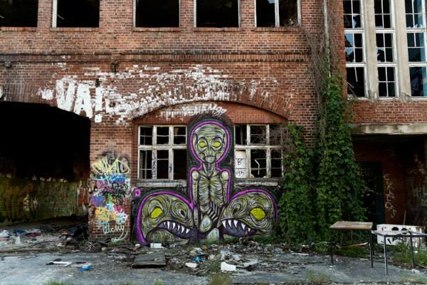 Berlin Graffiti - Abandoned Brewery