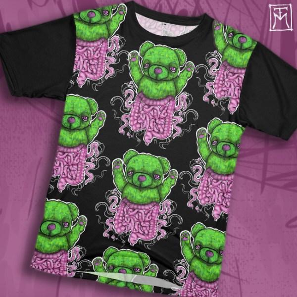 Teddy Testines All-over Printed Tshirt
