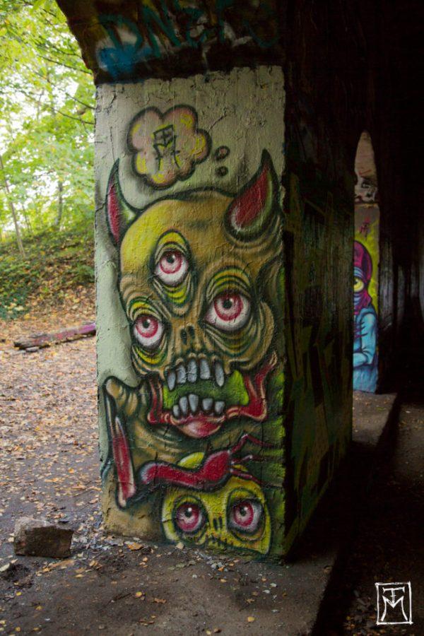 Demon Mural