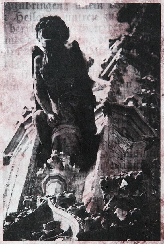 Gothic gargoyles adorning St. Barbara's cathedral