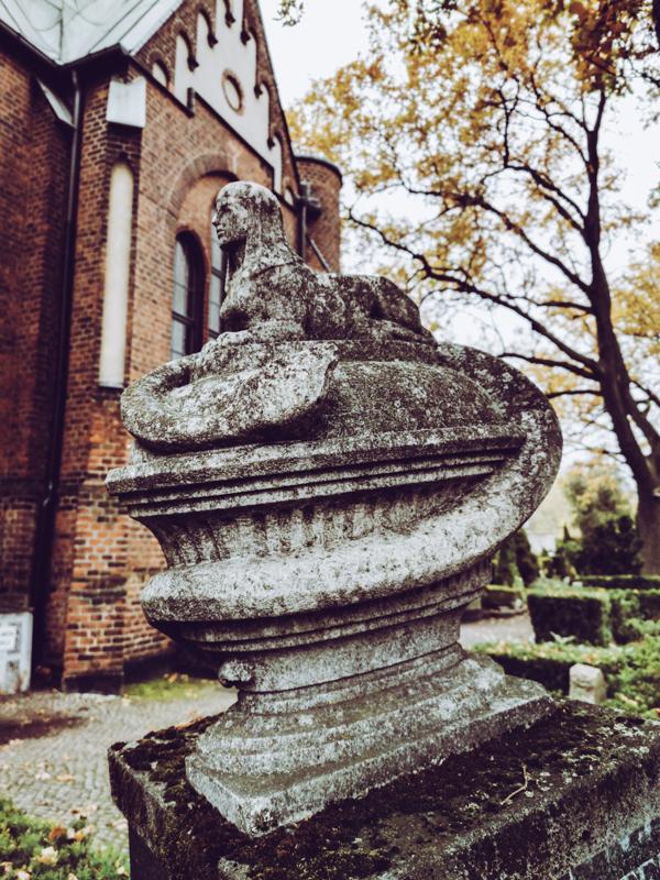 Weathered Sphinx at Grunewald