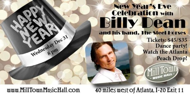 Billy Dean New Year's Eve