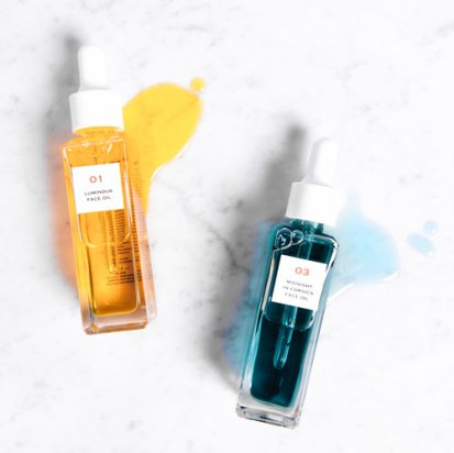 10 Degrees Cooler 01 Luminous Face Oil +10 Degrees Cooler 03 Midnight in Corsia Face Oil