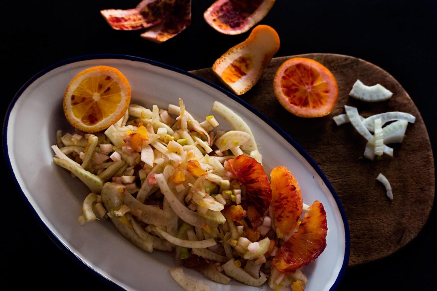 Fenchel-Cedro-Salat