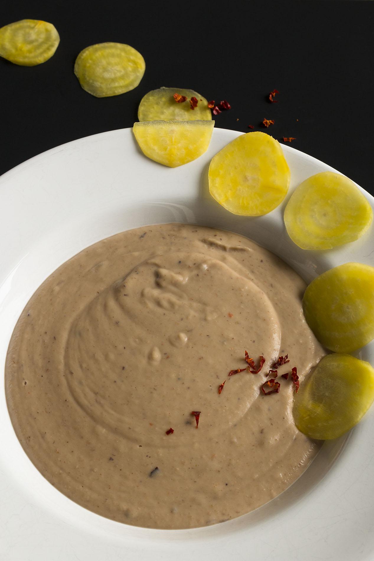 Maronensuppe mit Kokosmilch