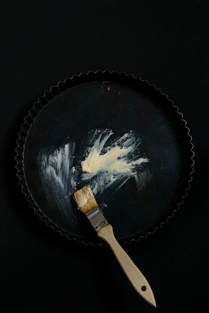 Tarteform-Butter