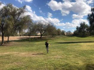 Tuesday, March 17, 2020 – Park with daughter and dog. Cave Creek, AZ. Christopher Bartz