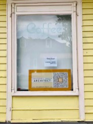 Sunday, April 19, 2020 – Petite Clouet Cafe Coming Soon Eventually. New Orleans, LA. Jill Pasquarella
