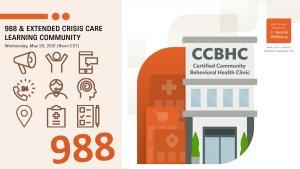 CCBHCs in the Crisis Continuum