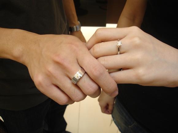 【婚戒】結婚戒帶中指 – 生活空間站