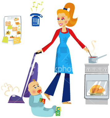 ist2_2444614-busy-housewife-and-mother