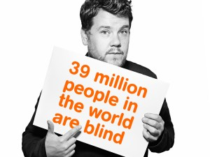 39 million people in the world are blind