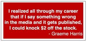 Graeme Harris Public Relations quote 1