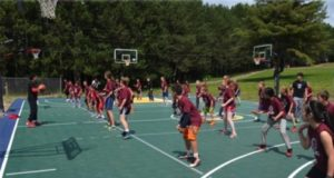 basketball coaching at Elite Camps