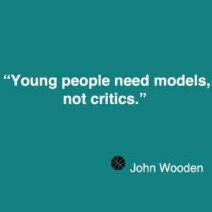 John Wooden quote about coaching