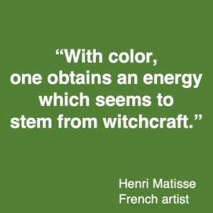 colour quote Henri Matisse