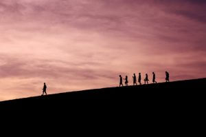 Effective leaders showing the way (Image unsplash @ jaysung)