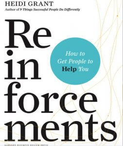 Reinforcements book - how to ask for help