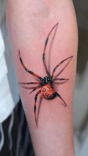 Tatuagem-3D-Feminina aranha