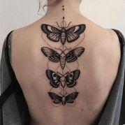 tattoo borboletas peb costas