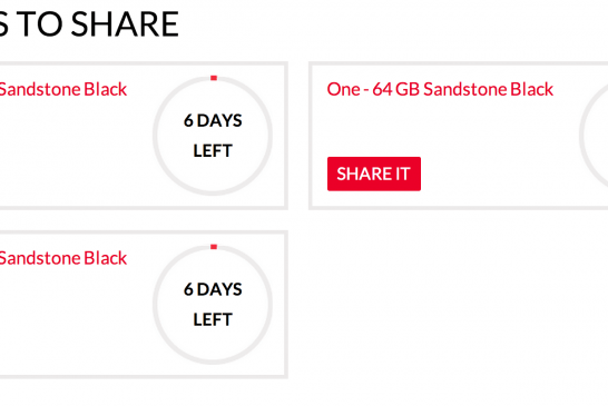 3 OnePlus One INVITES Giveaway!