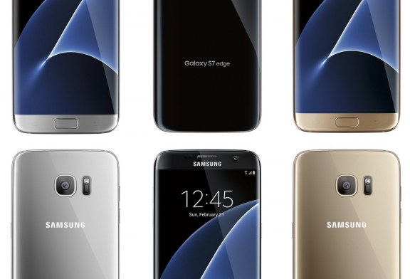 A Look at Some of the Samsung Galaxy S7 and S7 Edge Colors and New Live Images