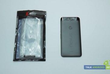 Nexus 6P REDShield clear TPU case review