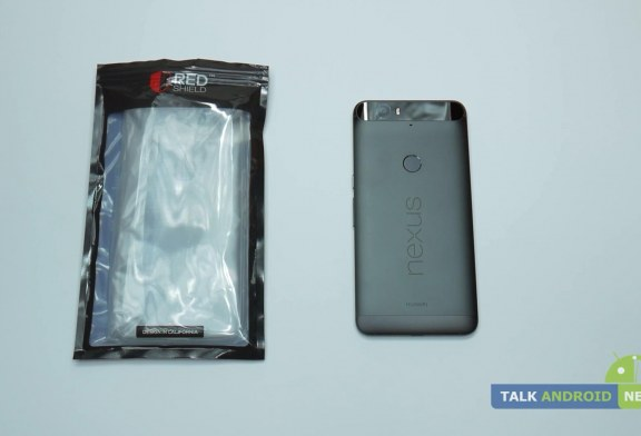 Nexus 6P REDShield clear TPU case review